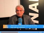 Entrevista José Sancho sobre Crematorio telebasura