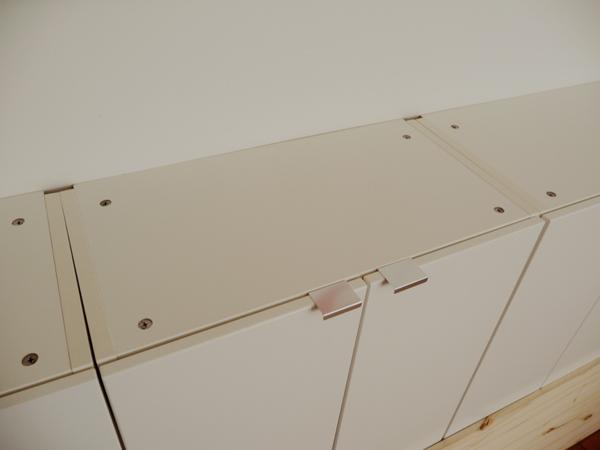 Ikea hack muebles de cocina volados para el sal n paperblog - Ikea almacenaje salon ...