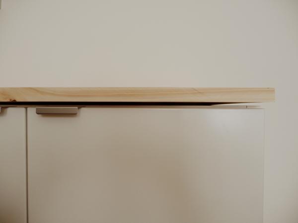 Ikea hack muebles de cocina volados para el sal n paperblog - Ikea muebles de cocina medidas ...