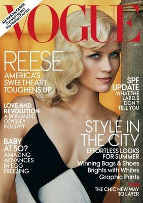 Reese Witherspoon, portada de Vogue US