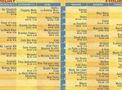 Listos horarios Coachella 2011