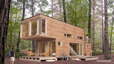 Casa prefabricada moderna modular con madera paperblog - Casa prefabricada moderna ...