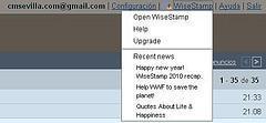 WiseStamps -- Pon a trabajar tu e-mail para mejorar tus redes sociales