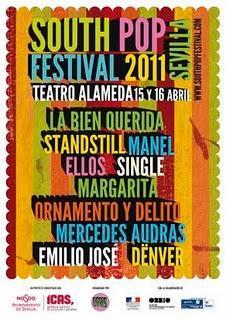 Horarios South Pop Festival 2011