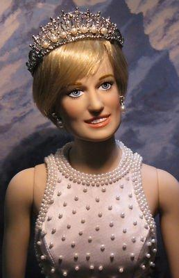 QM Tiara, Danbury-Franklin Mint for Princess Diana Doll