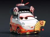 Personajes japoneses Cars