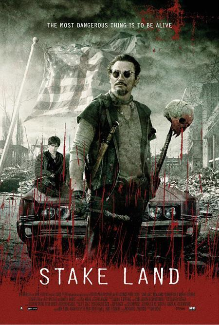 "Cartel y trailer de ""Stake Land"". Una Road Movie sobre vampiros"