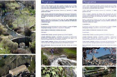 Banyeres de Mariola. Día Internacional de los Monumentos y los Sitios dedicado al Patrimonio Cultural del Agua 2011