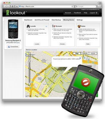 Recuperar celulares Blackberry y Android perdidos