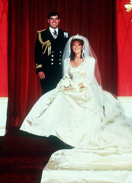 Vestido de novia de Sarah Ferguson