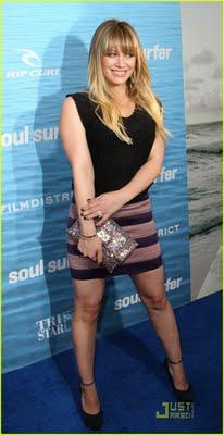 Hilary Duff  y 2 looks copiables