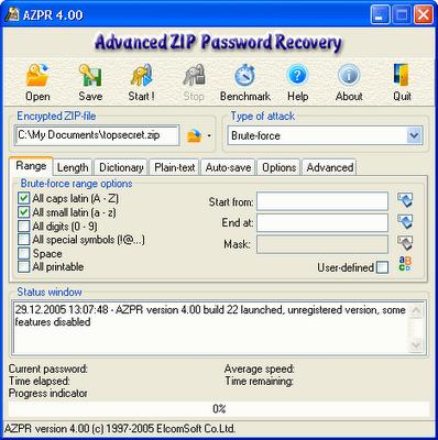 Eliminar o descifrar contraseña de archivo RAR