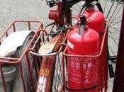 Lluvia artificial para apagar incendio.