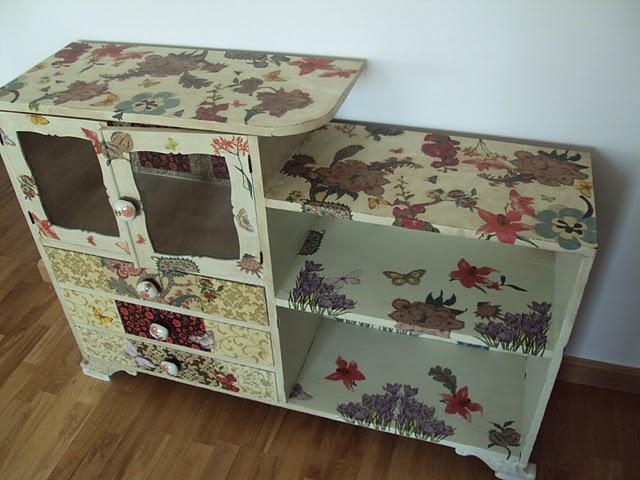 decoupage en muebles tutorial ~ dragtime for . - Decoupage En Muebles Tutorial