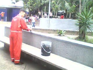 EL RECREO-Rescatan zonas verdes y muros Estaciones Metro Colegio Ingenieros