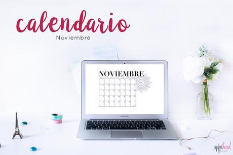 Freebie: Calendario Noviembre