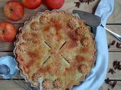 Tarta manzana americana. American apple pie.