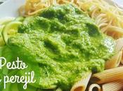 Pesto perejil, alternativa clásico pesto albahaca