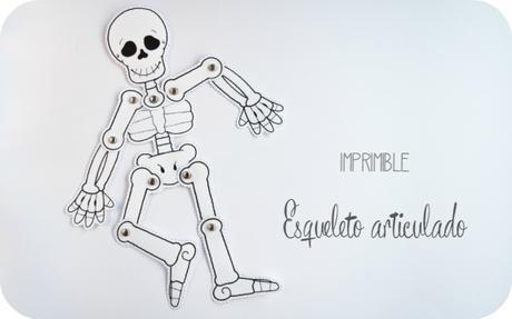 DIY: Esqueleto articulado para halloween