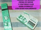 Review Productos REVUELE: Crema noche contorno ojos gama HYDRALIFT ácido hialurónico
