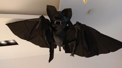 Cómo hacer un murciélago con un paraguas