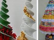 Vídeo tutorial arbolitos navideños periódico reciclado