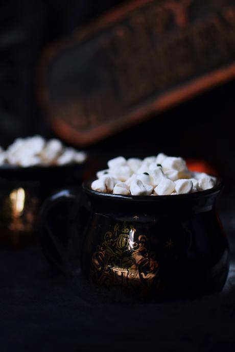 Chocolate Caliente con Butterscotch.