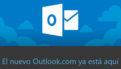 El Nuevo Correo Outlook.com