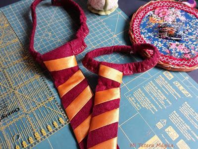 Corbatas para disfrad de bebé