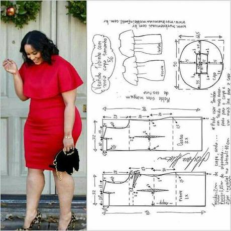 Patrones De Vestidos Para Mujeres Grandes Paperblog