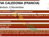 Nueva Caledonia decide urnas independiza Francia
