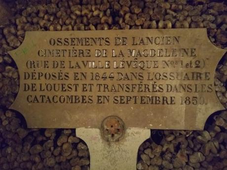 Las catacumbas de París