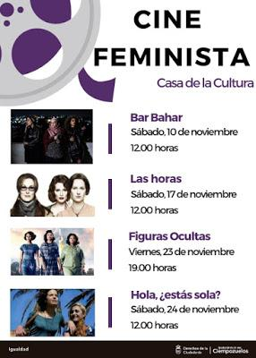 CICLO DE CINE FEMINISTA EN CIEMPOZUELOS