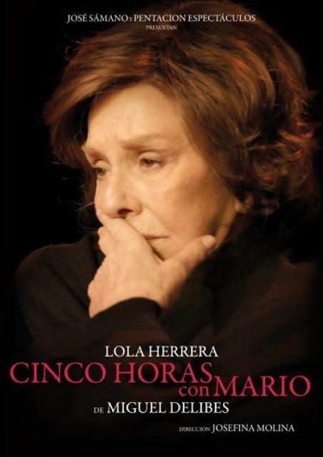 CINCO HORAS CON MARIO DE MIGUEL DELIBES EN EL TEATRO BELLAS ARTES DE MADRID: EL ESQUELETO DEL FRACASO Y LA VERDAD