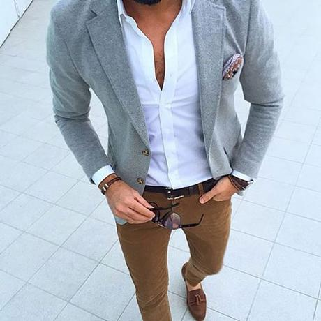 Outfit casual Friday para hombres