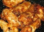 Alitas pollo estilo bufalo