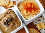 Hummus alubías blancas cebolla negra