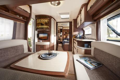 Matkailuvaunut Prestige 650 Wfu Hobby 2016 Matkailuautot Ja