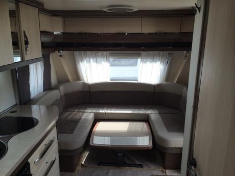 Hobby Caravan 650 Kfu Prestige 2016 6 Berth With Fixed Bunk