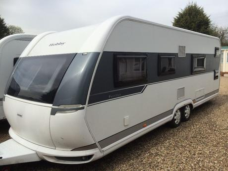 Hobby Caravan 650 Kfu Prestige 2016 6 Berth With Fixed Shower Curtains For Cers Inspiring Bunk