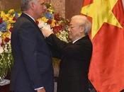 Vietnam condecora Miguel Díaz-Canel Orden Minh