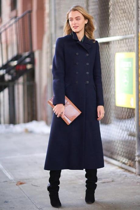 Tipos de abrigos de mujer