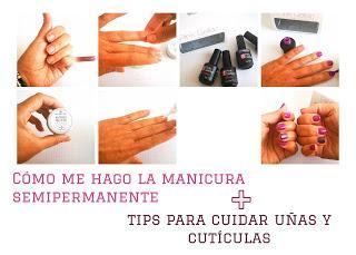 El vídeo de los domingos: Cómo me hago la manicura semipermanente + tips para cuidar uñas y cutículas