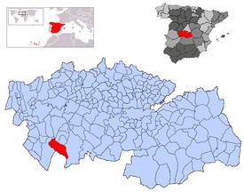 Resultado de imagen de robledo del mazo mapa