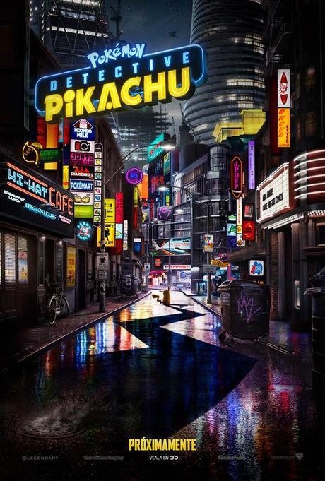 POKÉMON #DetectivePikachu llega a los cines en mayo de 2019!