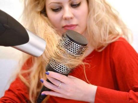 Errores al secar el cabello