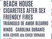 Festival Tomavistas 2019: Beach House, Cigarettes After Sex, Friendly Fires, Triángulo Amor Bizarro, Hinds, Carolina Durante...