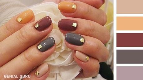 20 Combinaciones de colores de esmaltes