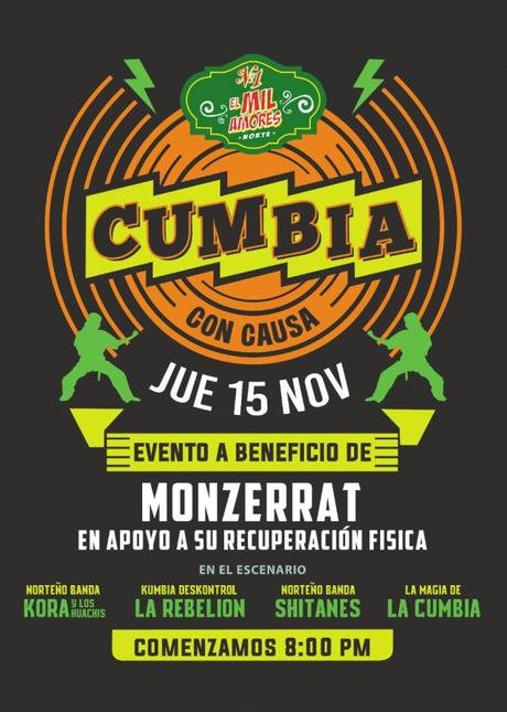 Organizan evento para recaudar fondos a beneficio de Monserrat.