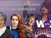 Creando personajes femeninos identificarse Wom@rts Lisa Tuttle, Elisabetta Gnone Sofía Rhei #LeoAutorasOct